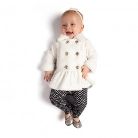 0045 conjunto casaco microsoft com pelo legging molecotton